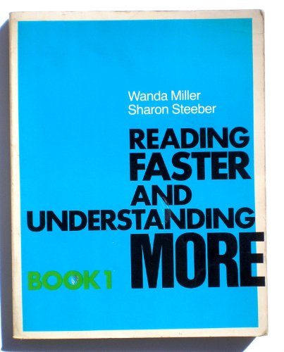 9780876267295: Reading faster and understanding more