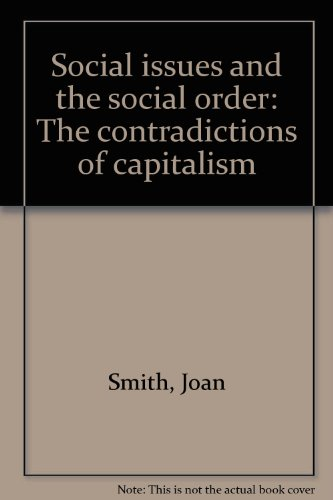 Social issues and the social order: The: Smith, Joan