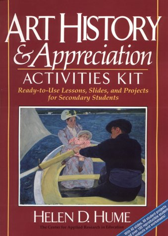 9780876281116: Art History & Appreciation Activities Kit: Ready-To-Use Lessons, Slides, and Projects for Secondary Students/Book and Slides