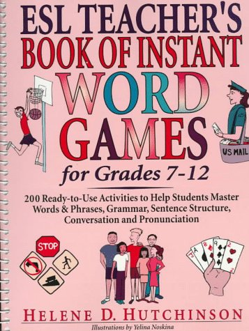 9780876282700: ESL Teacher's Book of Instant Word Games for Grades 7-12