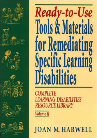 9780876282809: Ready To Use Tools & Materials for Remediating Specific Learning Disabilities (Complete Learning Disabilities Library, Vol. II)