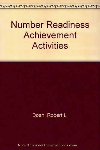 9780876282830: Number Readiness Achievement Activities
