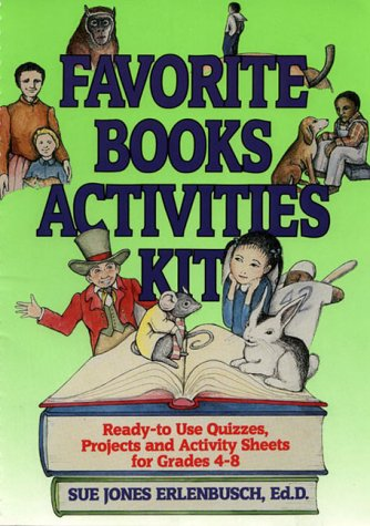 9780876283097: Favorite Books Activities Kit: Ready-To-Use Quizzes, Projects and Activity Sheets for Grades 4-8