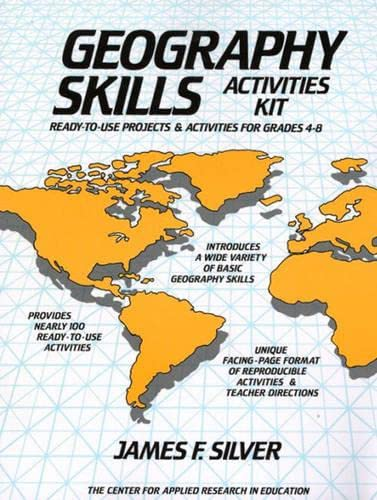 9780876283547: Geography Skills Activities Kit: Ready-To-Use Projects and Activities for Grades 4-8