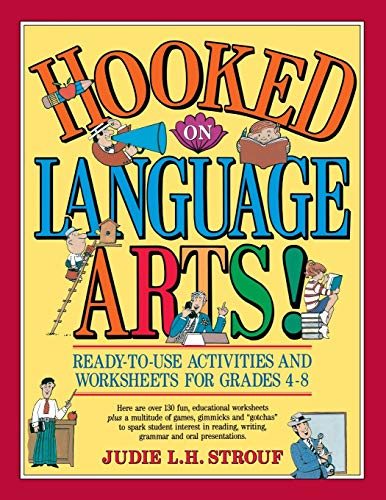 9780876284032: Hooked On Language Arts!: Ready-to-Use Activities and Worksheets for Grades 4-8