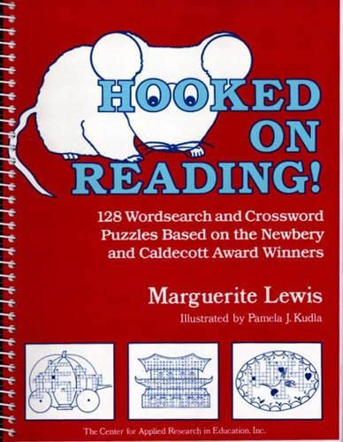 9780876284063: Hooked on Reading!: 128 Wordsearch and Crossword Puzzles Based on the Newbery and Caldecott Award Winners