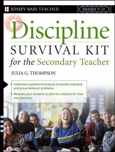 9780876284346: Discipline Survival Kit for the Secondary Teacher (J-B Ed: Survival Guides)