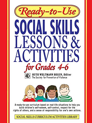 9780876284742: Ready-to-Use Social Skills Lessons & Activities for Grades 4 - 6