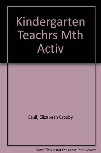 9780876284971: Kindergarten Teacher's Month-by-Month Activities Program