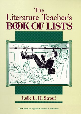 9780876285480: The Literature Teacher's Book of Lists (J-B Ed: Book of Lists)