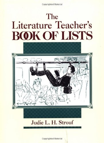 9780876285541: The Literature Teacher's Book Of Lists (J-B Ed: Book of Lists)