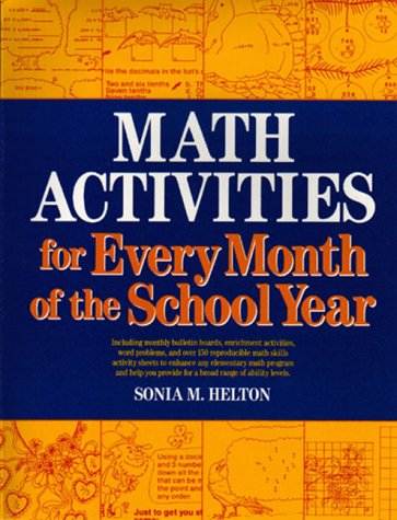 9780876285671: Math Activities for Every Month of the School Year