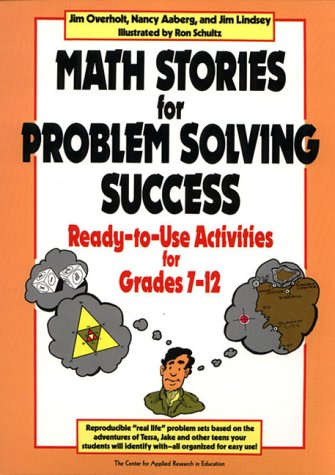 9780876285701: Math Stories for Problem Solving Success - Ready- To-use Activities for Grades 7-12