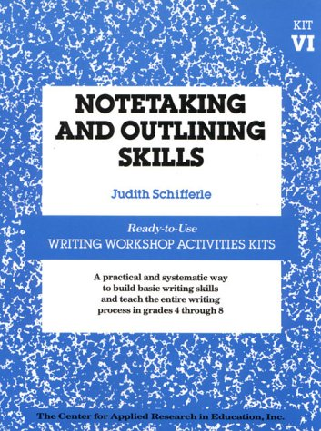 9780876286135: Notetaking and Outlining Skills