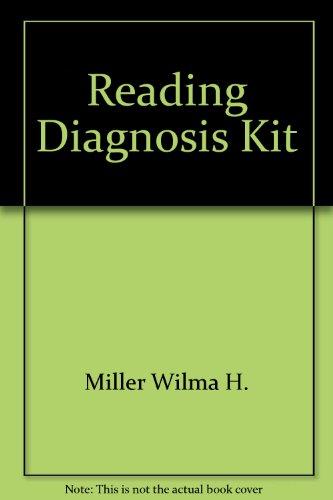 Reading diagnosis kit: Miller, Wilma H