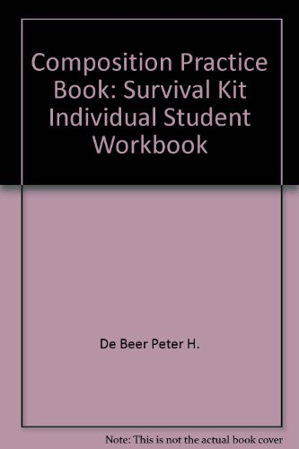 9780876287781: Composition Practice Book: Survival Kit Individual Student Workbook