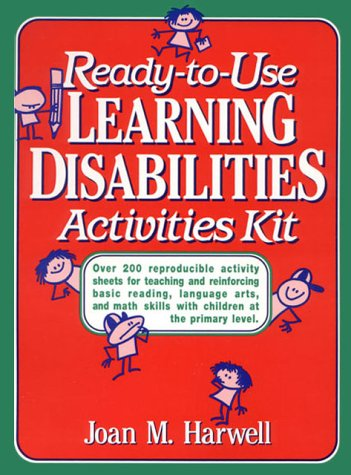 9780876288467: Ready to Use Learning Disabilities Activities Kit