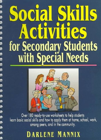 9780876288962: Social Skills Activities for Secondary Students with Special Needs
