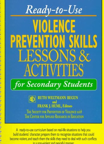 9780876289174: Ready-to-Use Violence Prevention Skills Lessons and Activities for Secondary Students (J-B Ed: Ready-to-Use Activities)