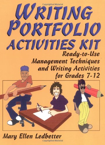 9780876289389: Writing Portfolio Activities Kit: Ready-to-Use Management Techniques and Writing Activities for Grades 7-12 (J-B Ed: Activities)
