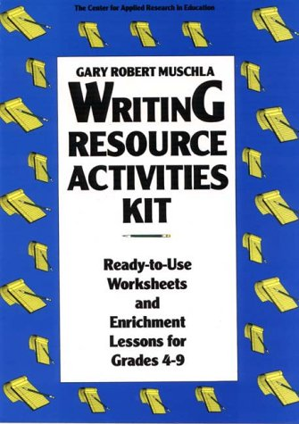 9780876289709: Writing Resource Activities Kit: Ready-To-Use Worksheets & Enrichment Lessons for Grades 4-9 (Pamphlet Series / Oral History Association)