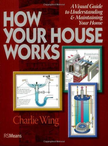 9780876290156: How Your House Works: A Visual Guide to Understanding & Maintaining Your Home