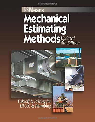 9780876290170: Means Mechanical Estimating Methods: Takeoff & Pricing for HVAC & Plumbing, Updated 4th Edition