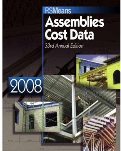 9780876290194: Assemblies Cost Data 2008 (Means Assemblies Cost Data)