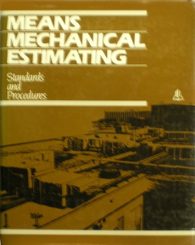 9780876290668: Means Mechanical Estimating: Standards and Procedures