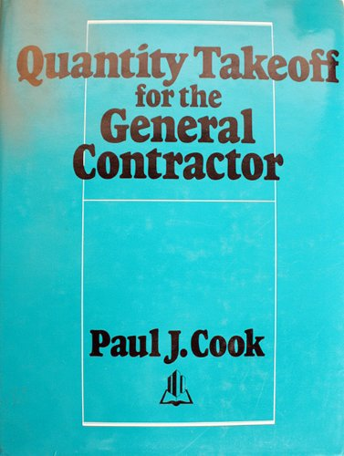 9780876291412: Quality Takeoffs for the General Contractor