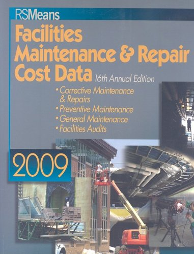 9780876291757: RS Means Facilities Maintenance & Repair Cost Data (Means Facilities Maintenance & Repair Construction Cost Data)