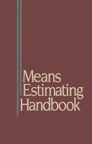 9780876291771: Means Estimating Handbook