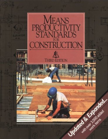 9780876293140: Means Productivity Standards for Construction