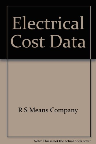 9780876294024: Electrical Cost Data (Means Electrical Cost Data)