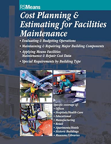 9780876294192: Cost Planning and Estimating for Facilities Maintenance
