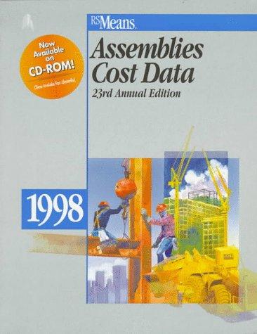 9780876294772: Assemblies Cost Data 1998 (Means Assemblies Cost Data)