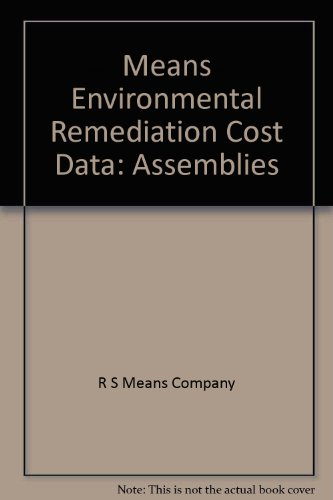 9780876295267: Means Environmental Remediation Cost Data: Assemblies