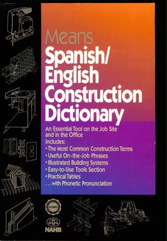 9780876295786: Means Spanish English Construction Dictionary