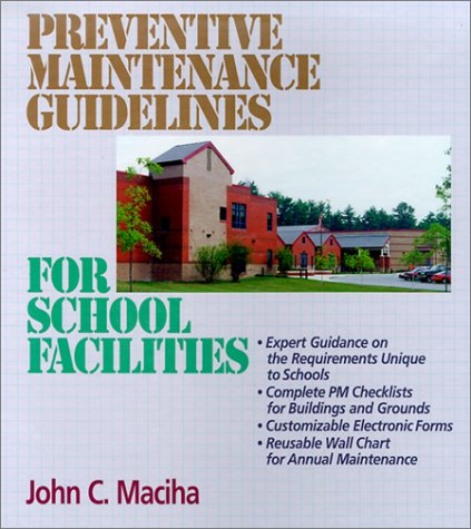9780876295793: Preventive Maintenance Guidelines for School Facilities