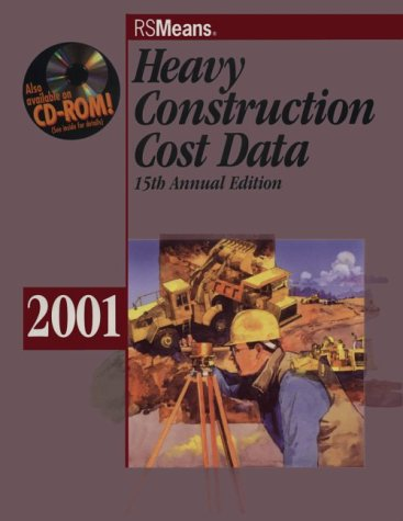 9780876295946: Heavy Construction Cost Data 2001 (Means Heavy Construction Cost Data, 2001)
