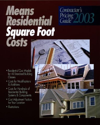 9780876296479: Residential Square Foot Costs (Means Contractor's Pricing Guides)