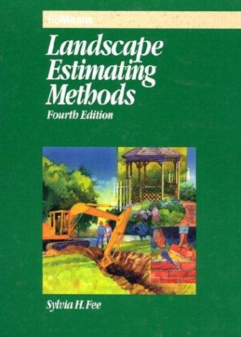 9780876296639: Landscape Estimating Methods (Means Landscape Estimating)