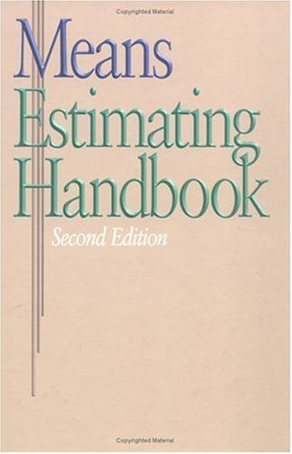 9780876296998: Means Estimating Handbook