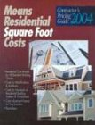 9780876297193: Means Residential Square Foot Costs: Contractor's Pricing Guide 2004