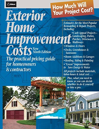 Exterior home improvement costs the practical pricing for Home improvement costs