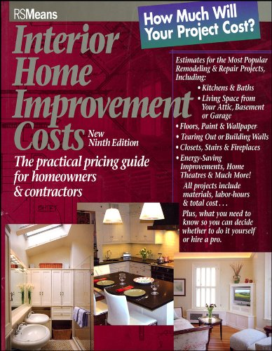 9780876297438: Interior Home Improvement Costs: The Practical Pricing Guide for Homeowners and Contractors