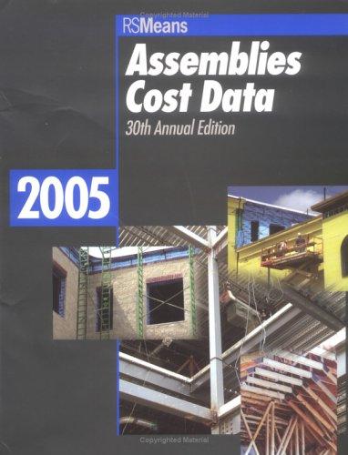 9780876297520: Assemblies Cost Data 2005 (Means Assemblies Cost Data)
