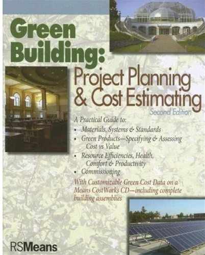 9780876298268: Green Building: Project Planning and Cost Estimating (RSMeans)