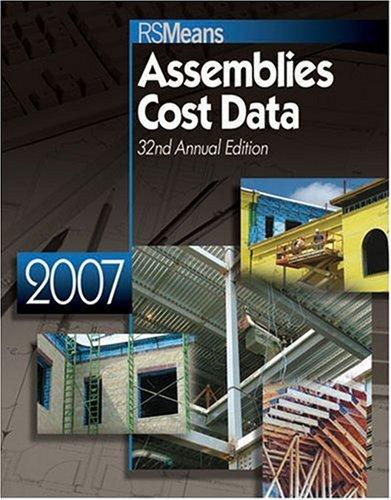 9780876298503: 2007 Assemblies Cost Data (2007 Means Assemblies Cost Data)