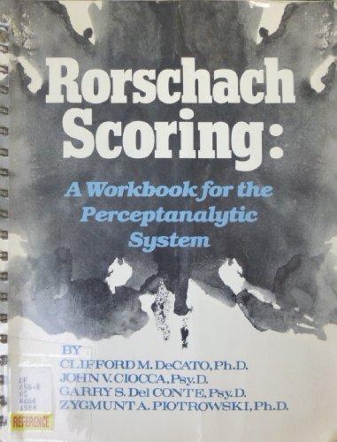 9780876303641: Rorschach Scoring
